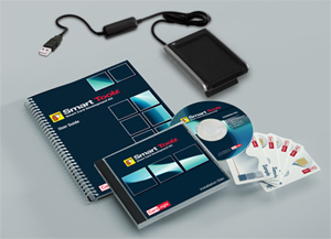Smart Toolz smart card development kit contents